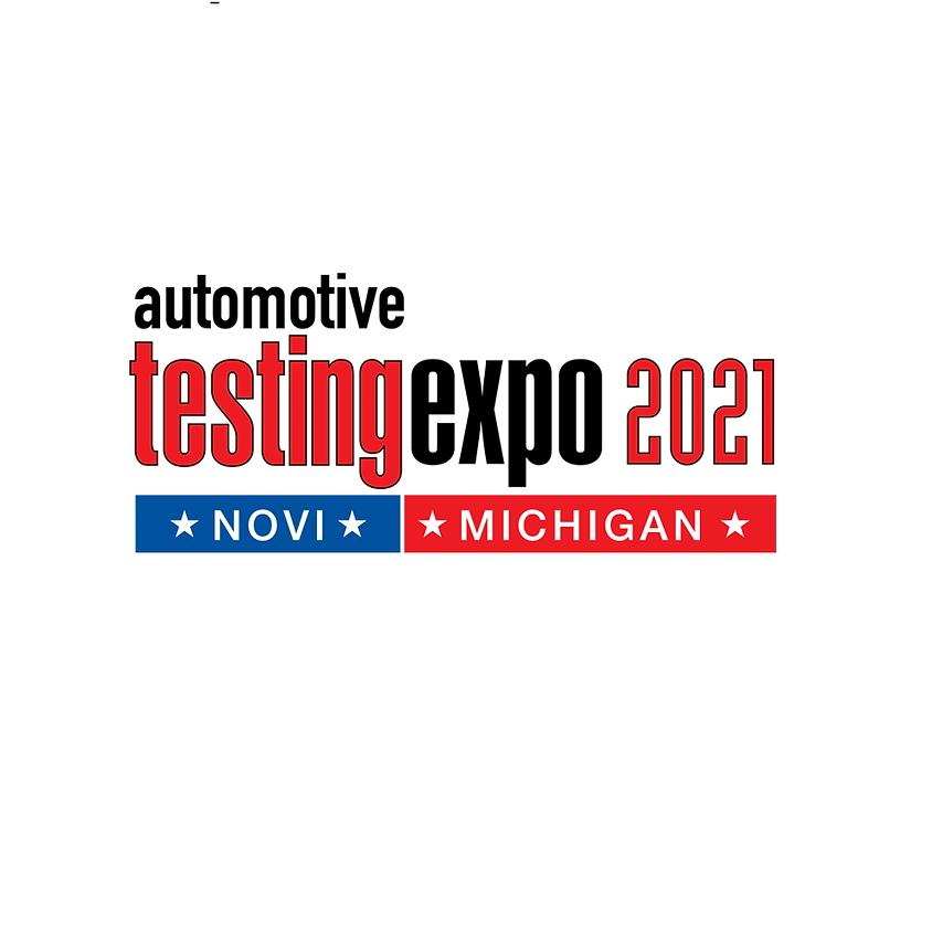 Automotive Testing Expo Novi Michigan 2021