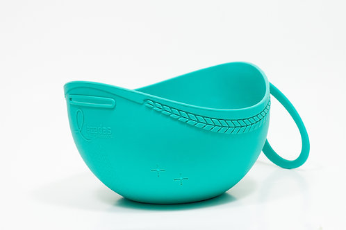 Spring teal project caddy