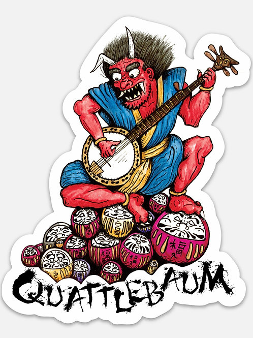 Banjo Demon Sticker