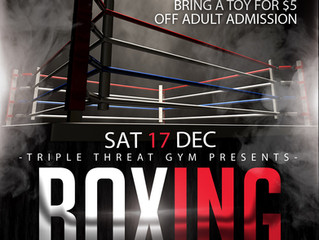 Boxing Toy Drive