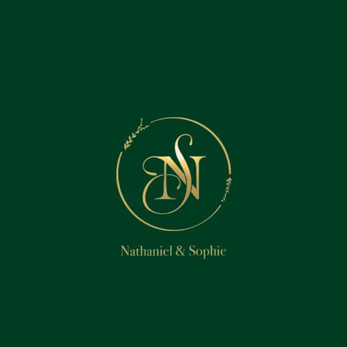 Monogram logo Nathaniel & Sophie