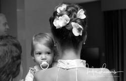 Opmaak bruid- bruidskapsel