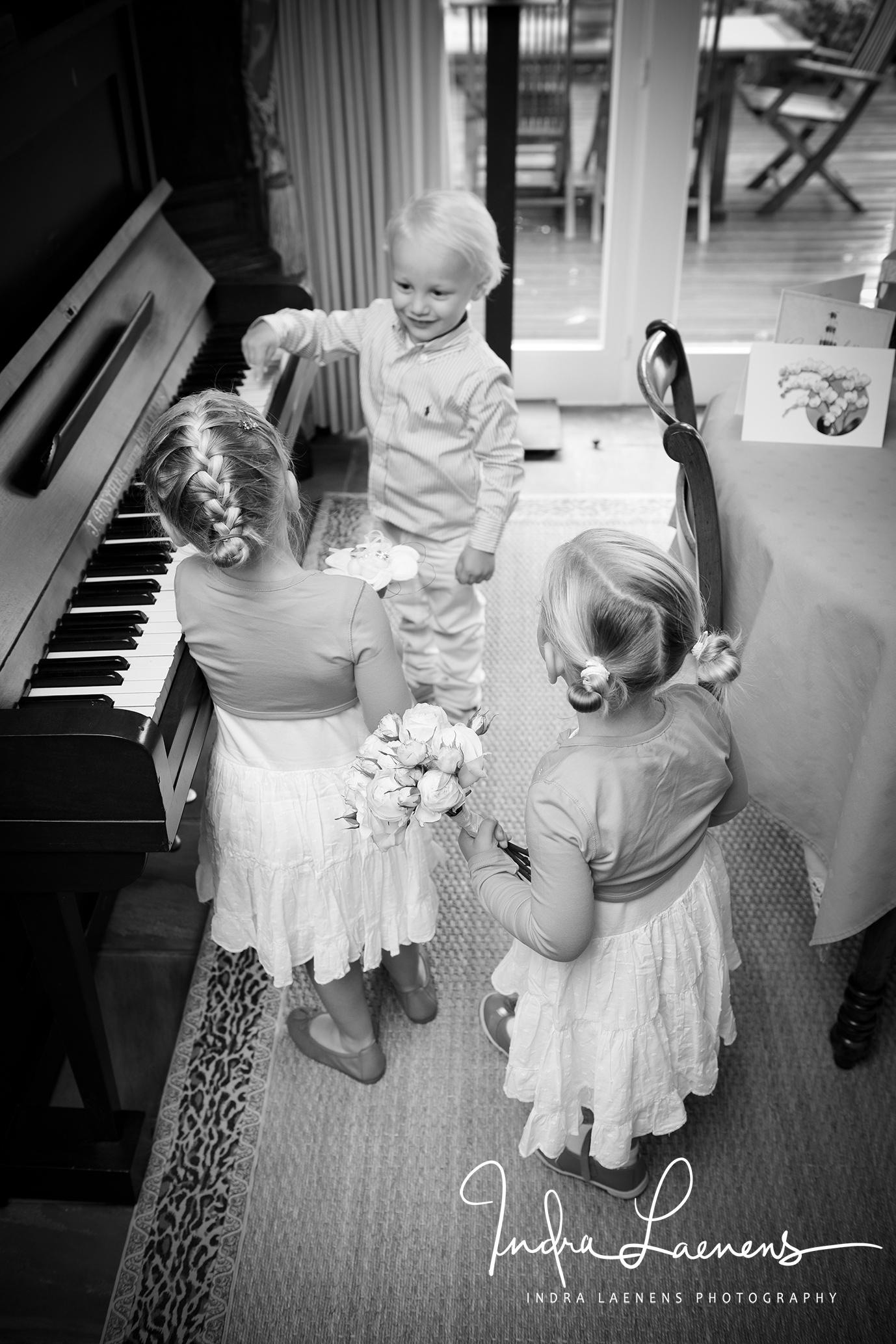 Opmaak huwelijk- kids