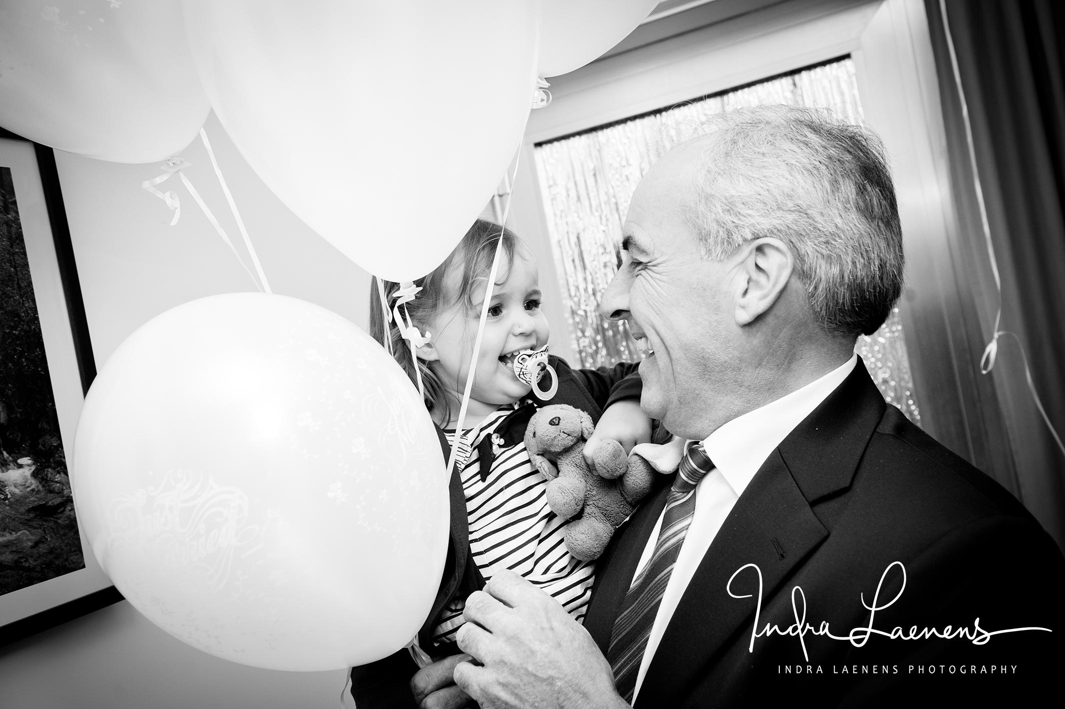 Opmaak huwelijk- ballon