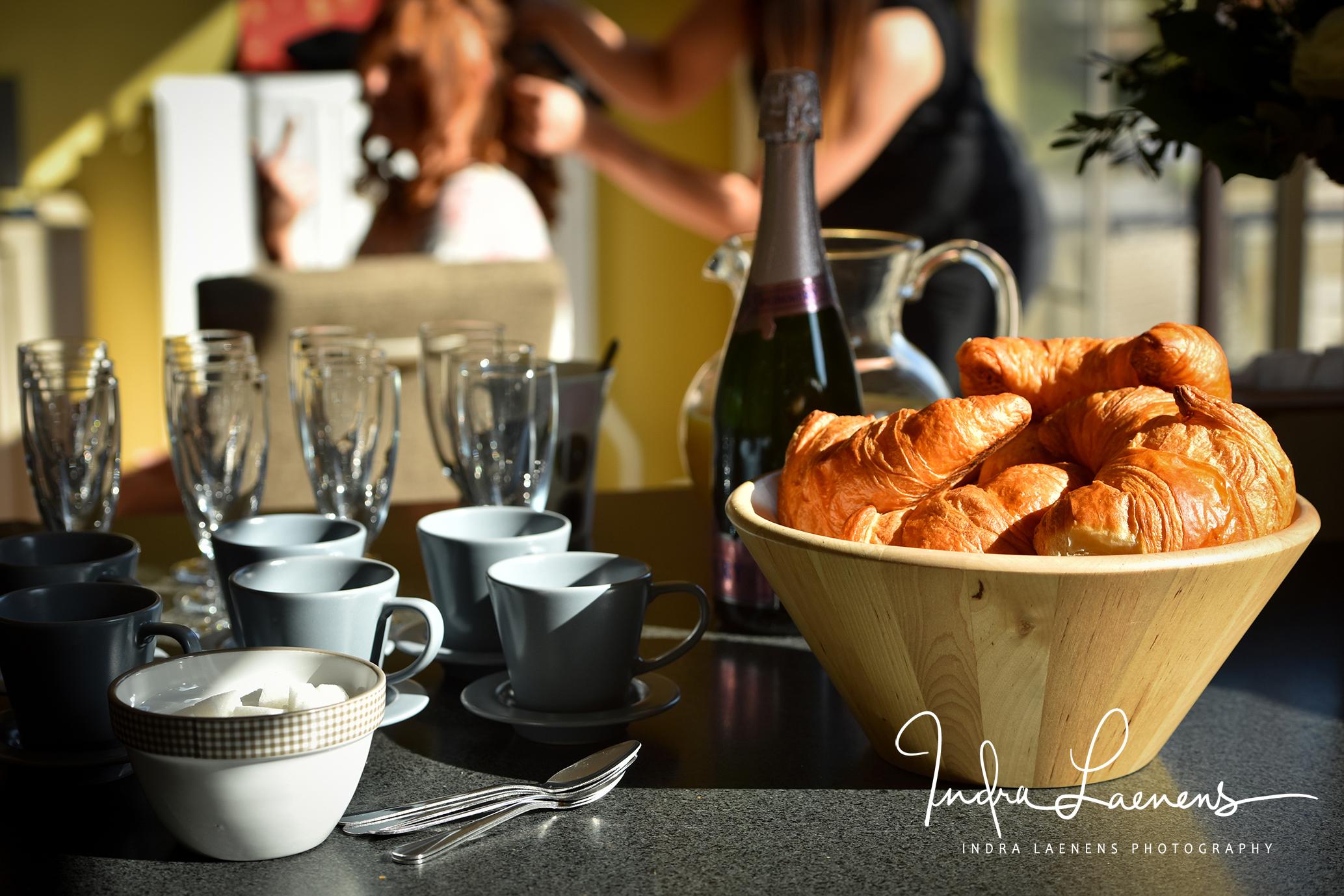 Opmaak huwelijk- ontbijt