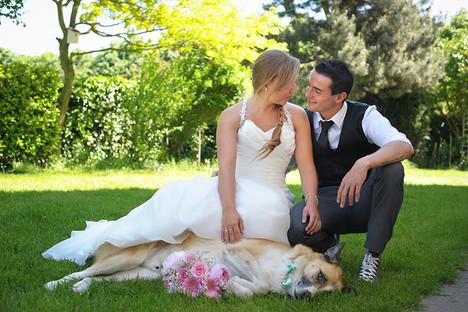 huwelijksfotografie koppel
