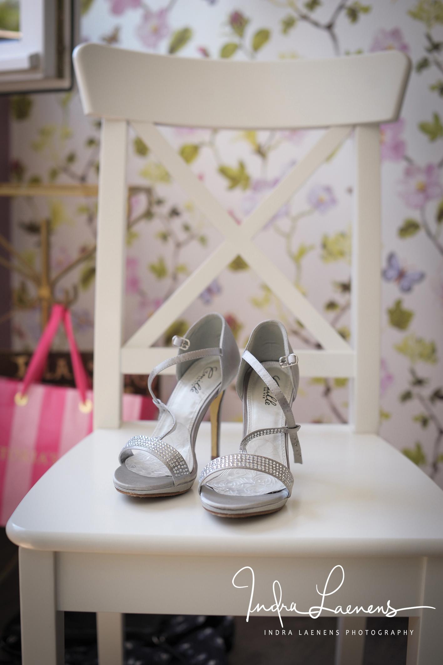 Opmaak bruid- trouwschoenen