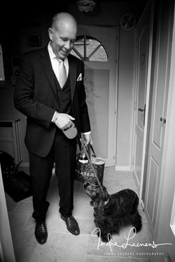 Opmaak huwelijk- walk the dog