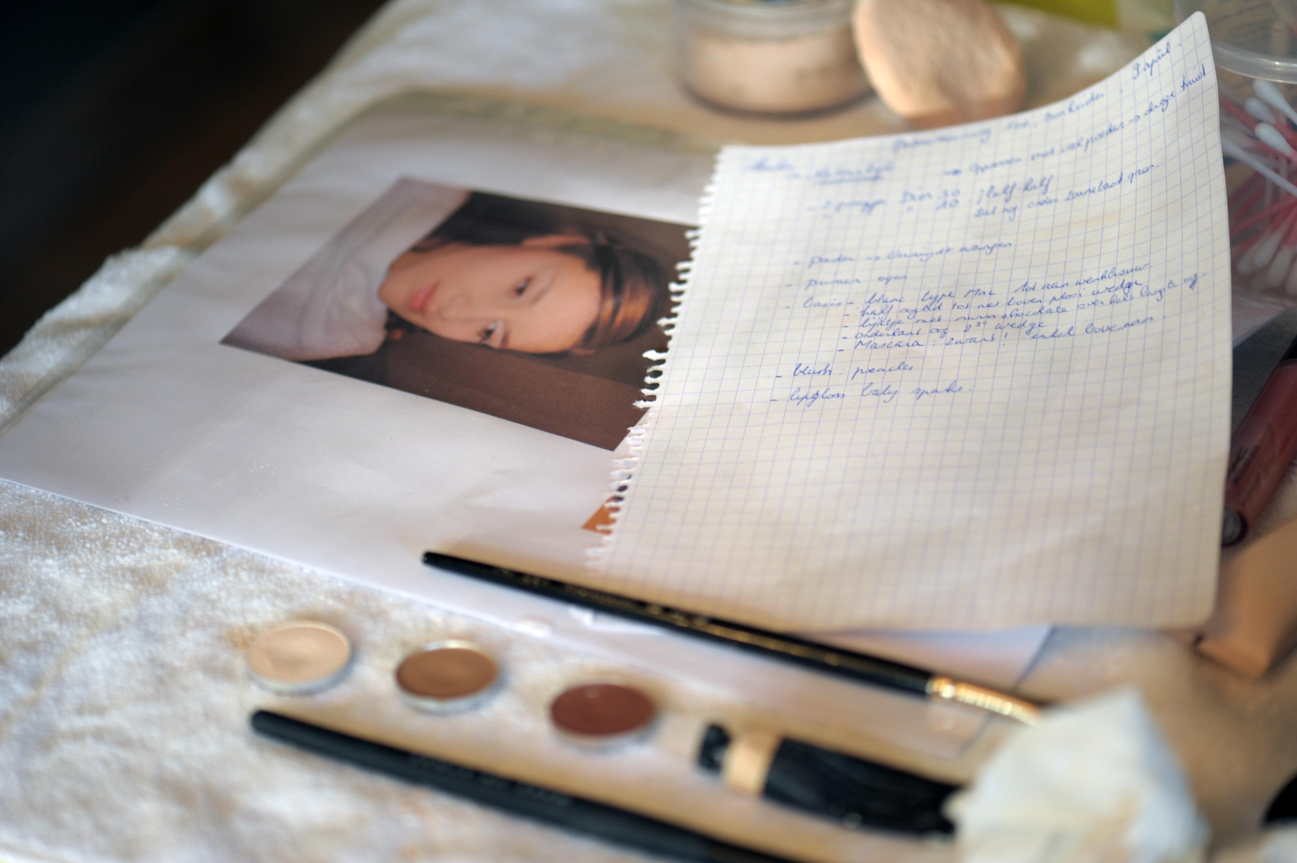 Opmaak bruid- make up