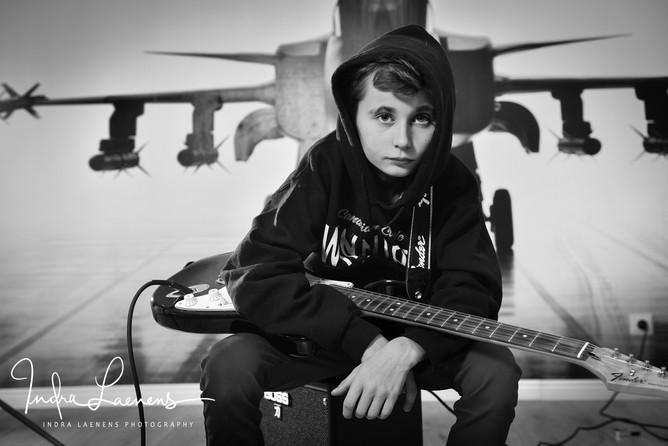Dante en zijn gitaar