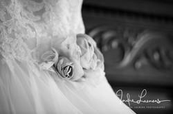 Opmaak bruid - trouwkleed