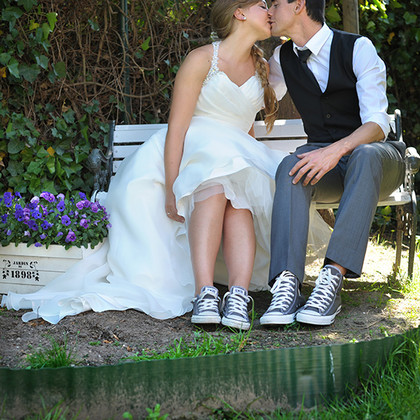 Huwelijksfotografie bruid en bruidegom
