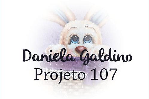 Projeto Digital 107: Páscoa 2021 Coelho no Cesto