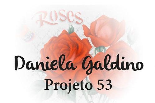 Projeto Digital 53: Rosas Vermelhas Realistas Vintag