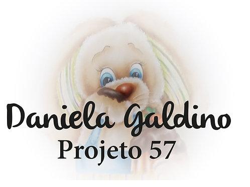 Projeto Digital 57: Páscoa Coelho com Chocolate