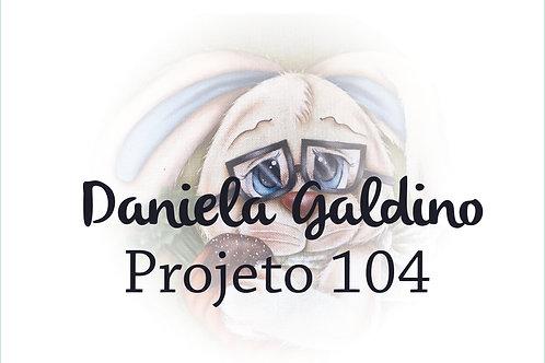 Projeto Digital 104: Páscoa 2021 Coelho com Cenoura