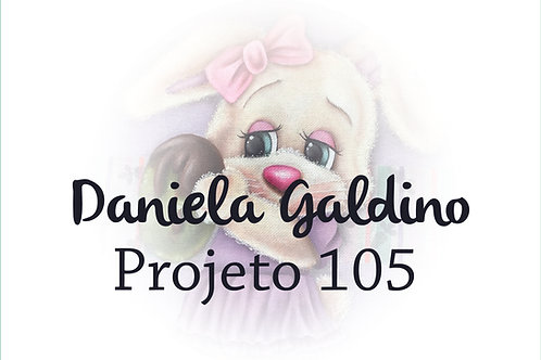 Projeto Digital 105: Páscoa 2021 Coelha Charmosa com Ovo
