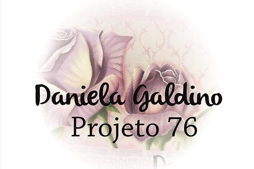 Projeto Digital 76: Toalha Lavabo Rosas Realista Violeta