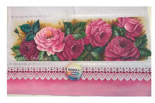 Projeto 90 Rosas cor de rosa - Promocional