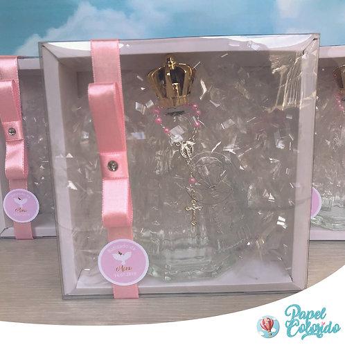Caixa personalizada de Nossa Senhora com vidro