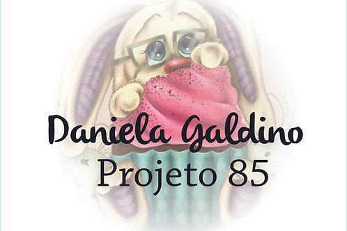 Projeto Digital 85: Coelho com Cupcake