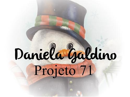 Projeto Digital 71: Boneco de Neve com Lamparina