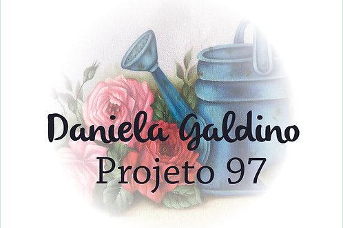 Projeto Digital 97: Rosas com Regador Azul