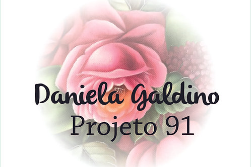 Projeto Digital 91:  Maça Verde com Rosas
