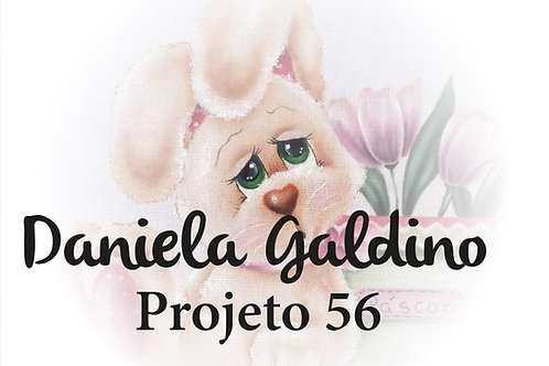 Projeto Digital 56: Páscoa Coelha com Tulipas