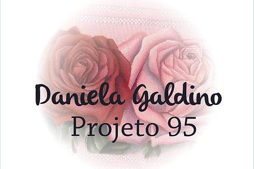 Projeto Digital 95: Toalha Lavabo Rosa Realista Vermelha e Pink