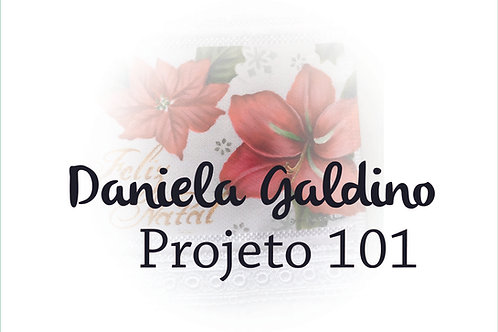 Projeto Digital 101 - NATAL: Toalha de Lavabo flores de Natal