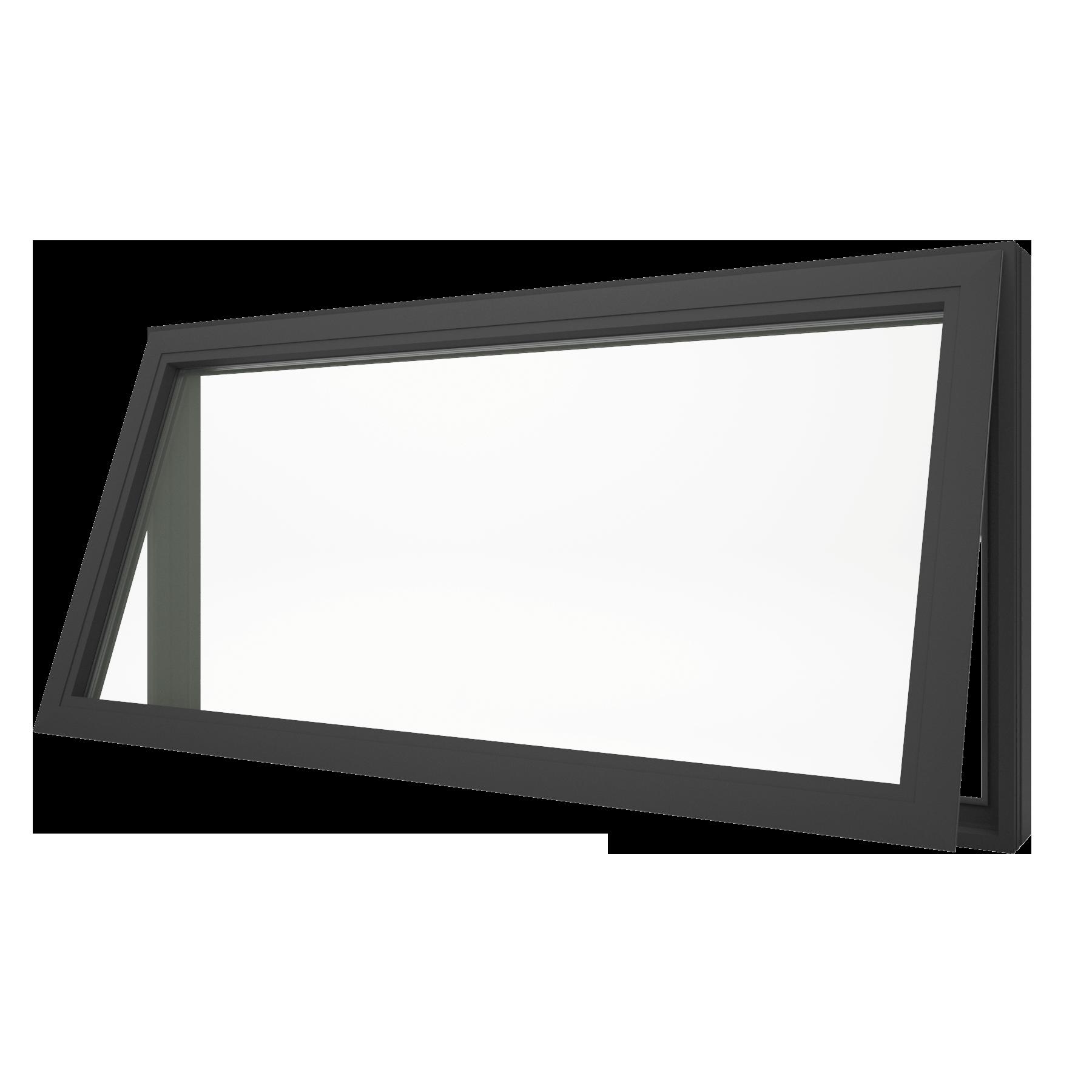 Awning-Window-black-open