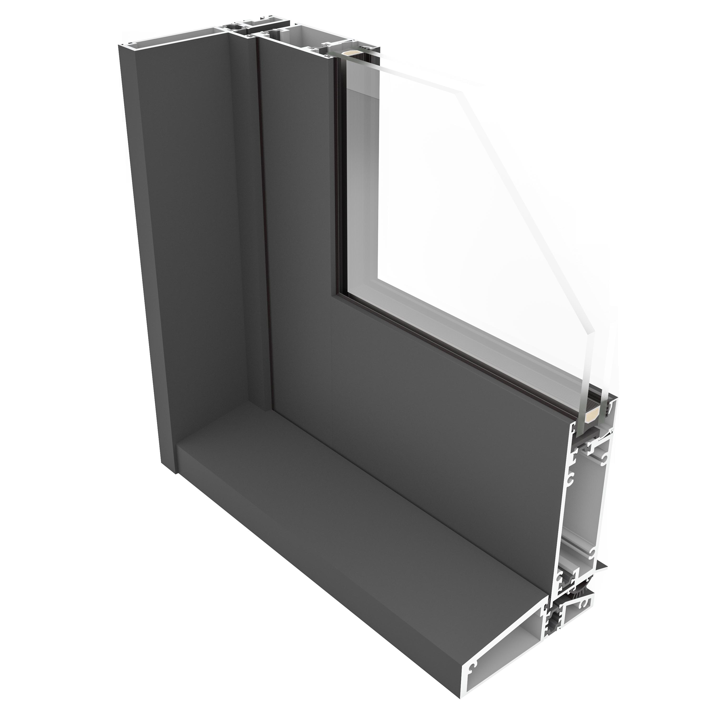 SINGLE DOOR cross section