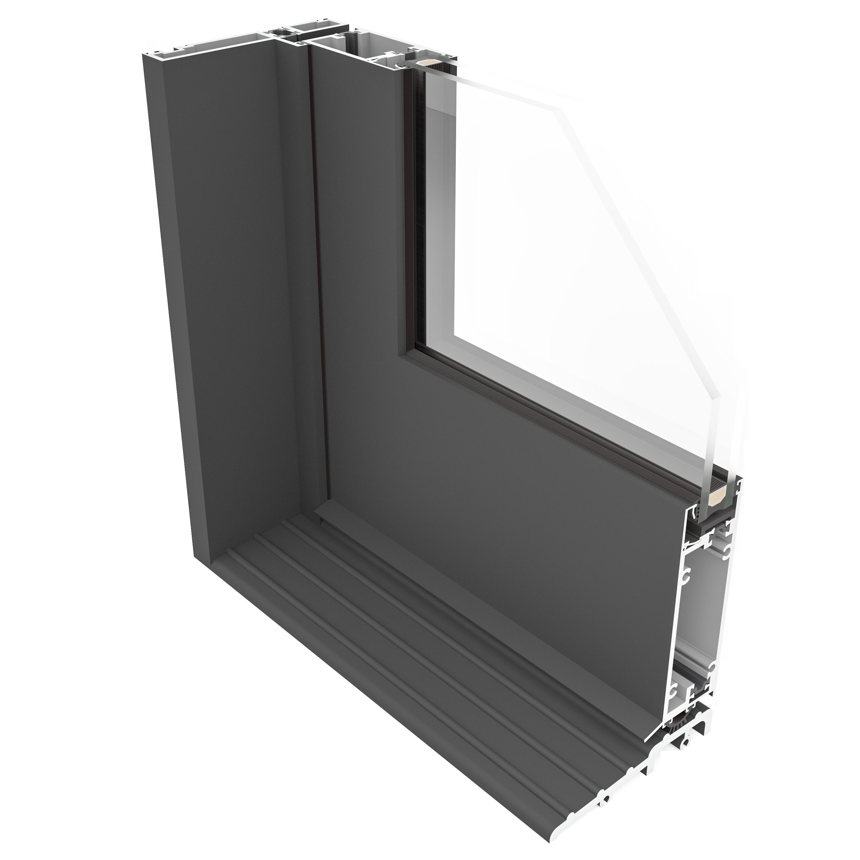SINGLE INSWING DOOR _cross section