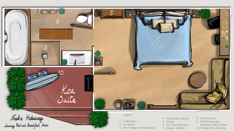 KOA SUITE FLOOR PLAN