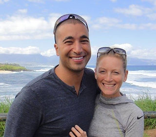 FADI AND CATH, NOAH'S HIDEAWAY OWNERS