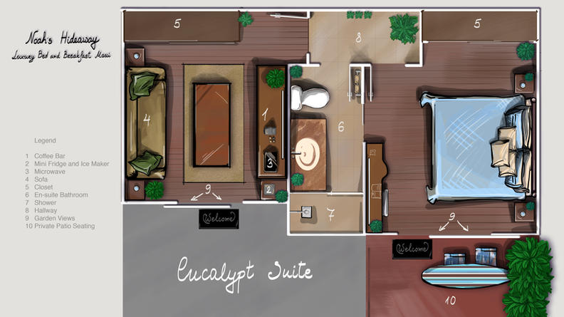 EUCALYPT SUITE FLOOR PLAN