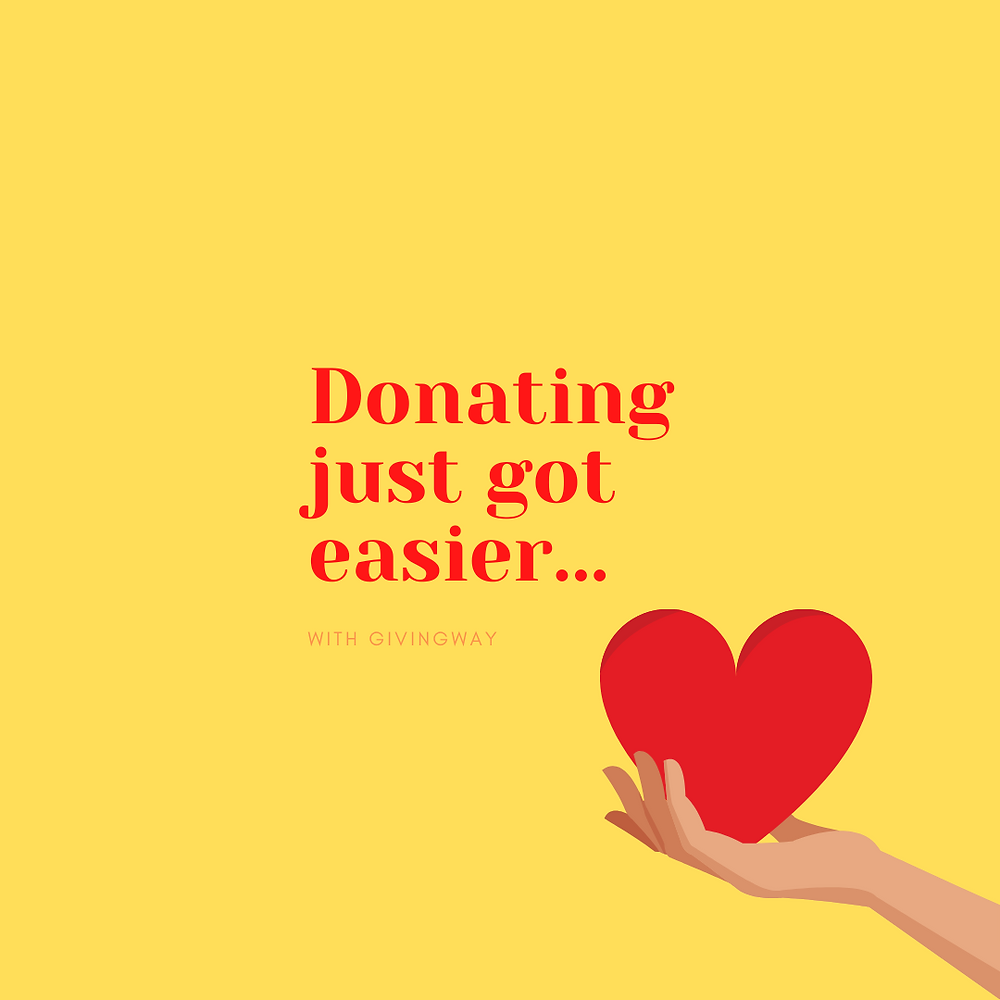 Donating just got easier - template 6