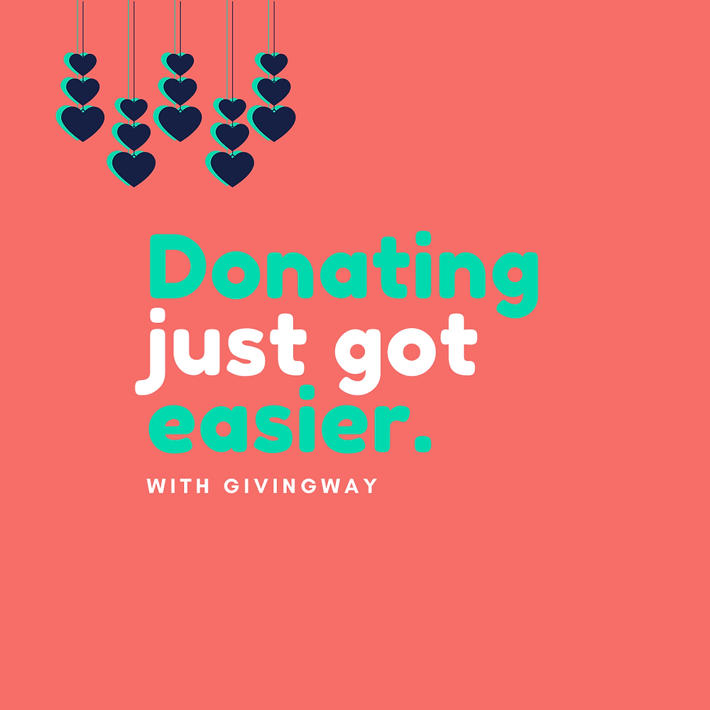 Donating just got easier - template 7