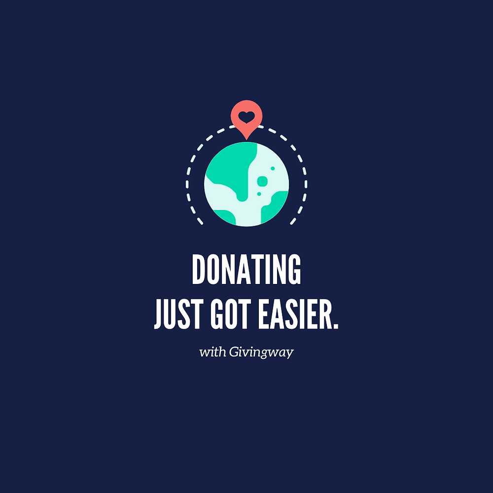 Donating just got easier - template 4