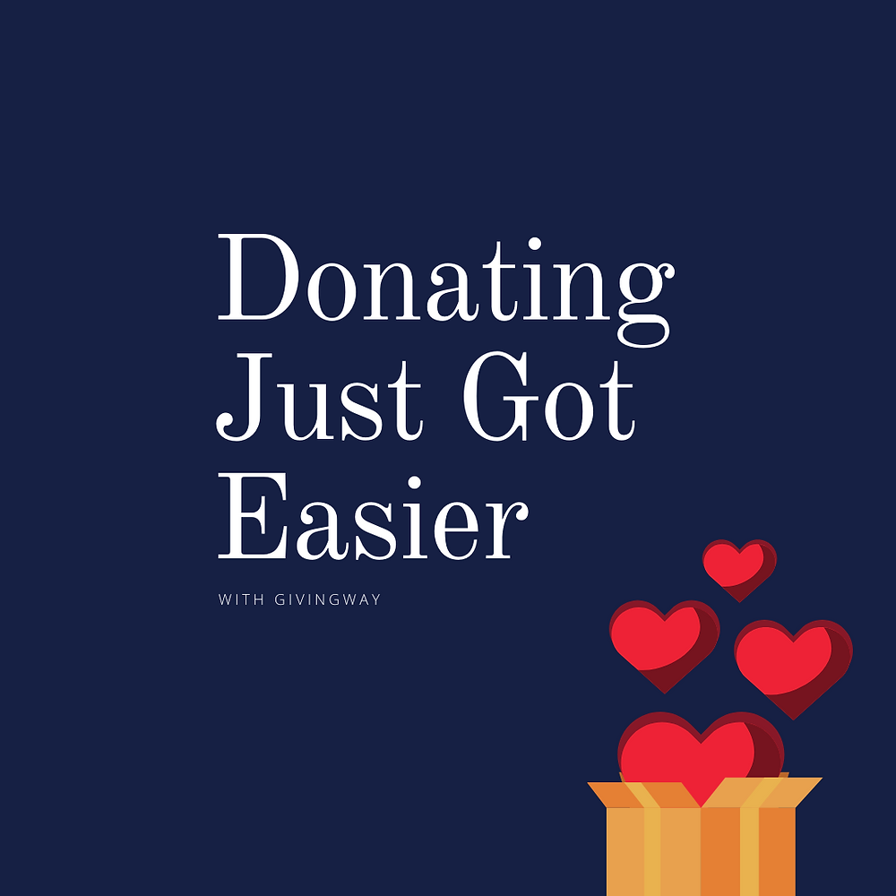 Donating just got easier - template 5