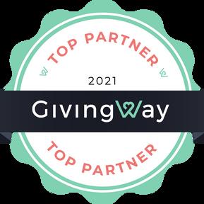 GivingWay Top Partner Program - Updates & Announcements