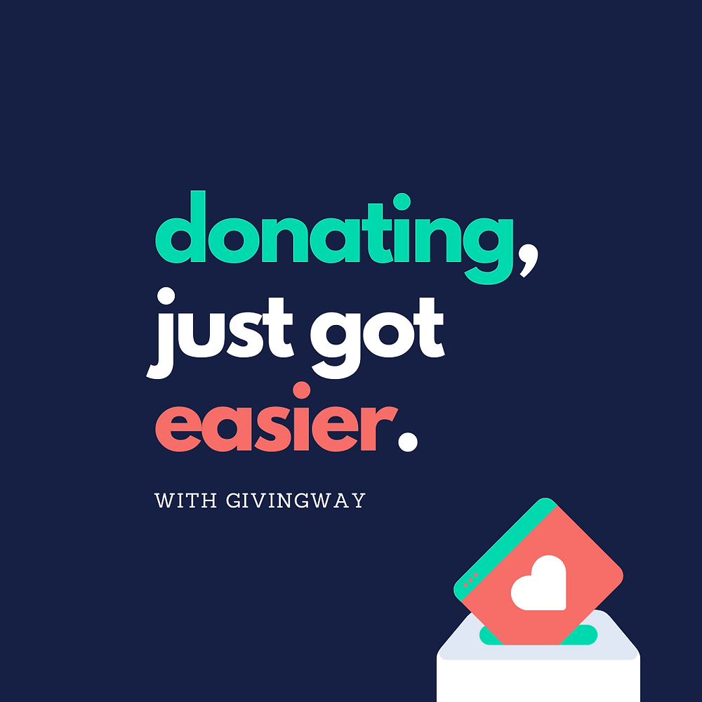 Donating just got easier - template 2