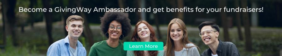 GivingWay Ambassador Signup