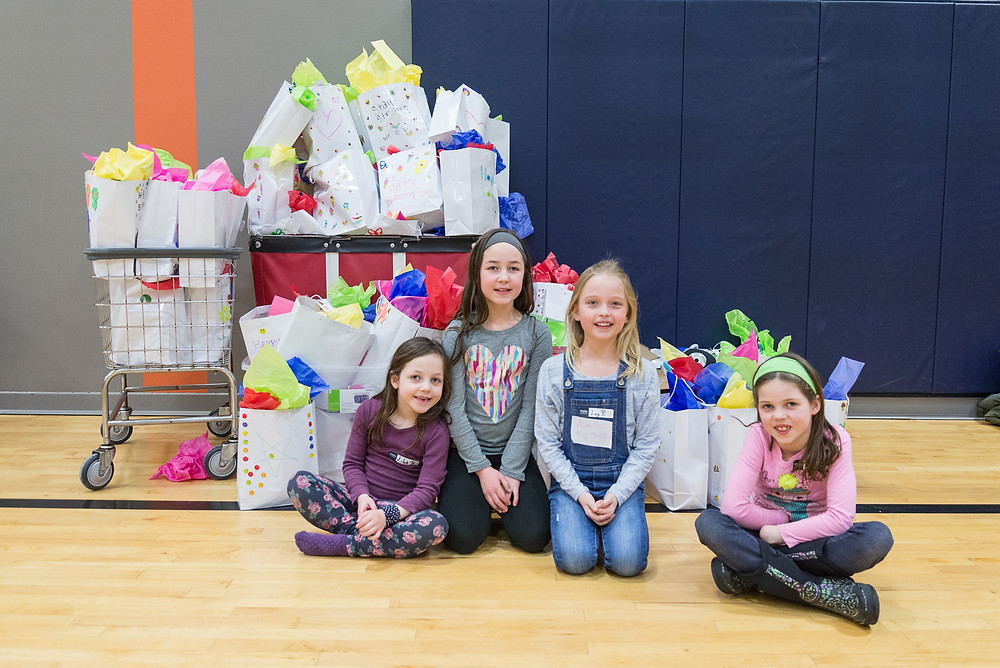 Gift Bags for Families in Need