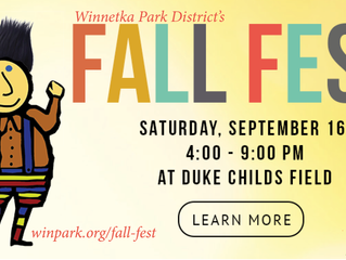Come find us at Winnetka's famous Fall Fest on Sept 16th and enjoy the free festivities while yo