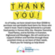 Thank You - Families Helping Families 1-