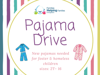 April's Target - collect 100 pairs of new Pajamas!
