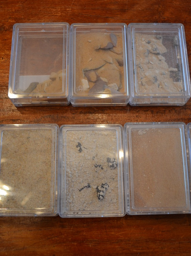 Western Desert Egypt sand samples