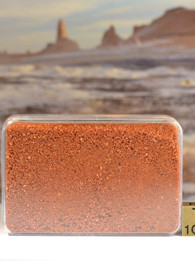 Gilf Kebir Egypt red sand sample